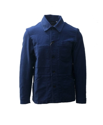 vetra moleskin workwear french workman jacket