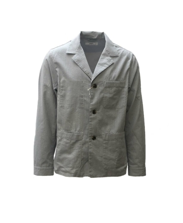 Fujito work jacket seersucker