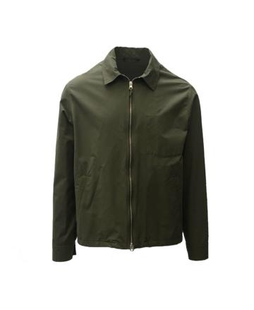 Hartford downtown zip water repellent jacket army green