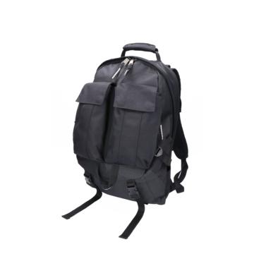 Indispensable black nylon back pack