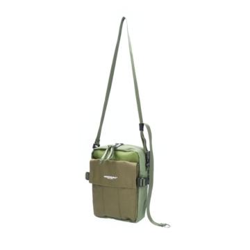 Indispensable messenger shoulder bag Khaki