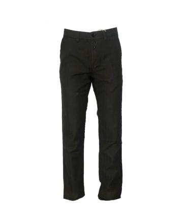 Vetra Herringbone cotton trousers