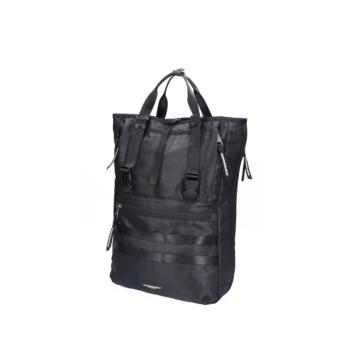 Indispensable Econylon 3 way tote bag black