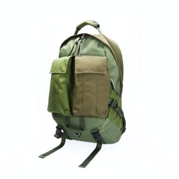 Indispensable khaki backpack